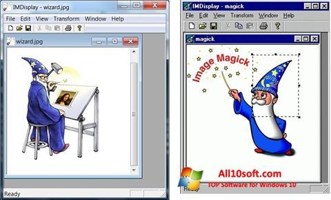Screenshot ImageMagick Windows 10