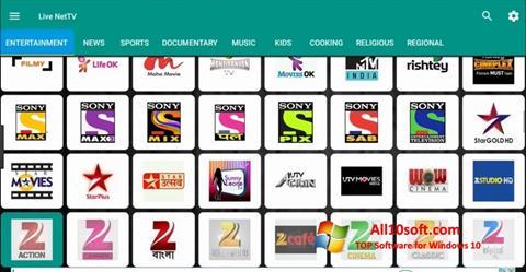 Screenshot Net TV Windows 10