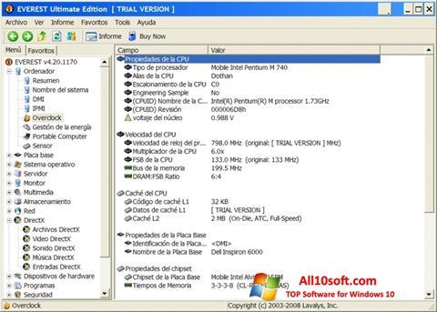 Screenshot EVEREST Ultimate Edition Windows 10