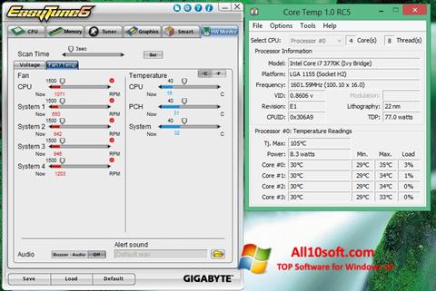 Screenshot EasyTune Windows 10
