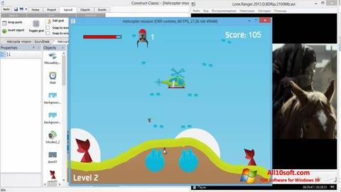 Screenshot Construct Classic Windows 10