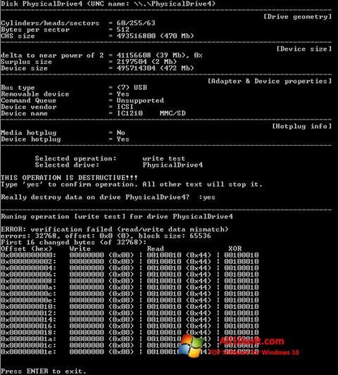 Screenshot Flashnul Windows 10