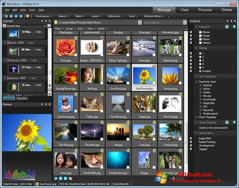 Screenshot ACDSee Windows 10