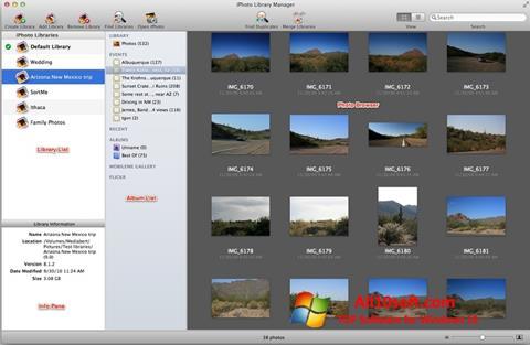Screenshot iPhoto Windows 10