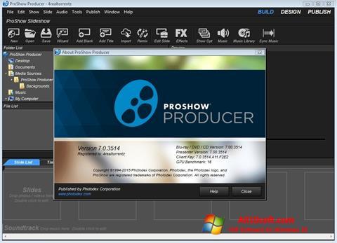 Screenshot ProShow Producer Windows 10