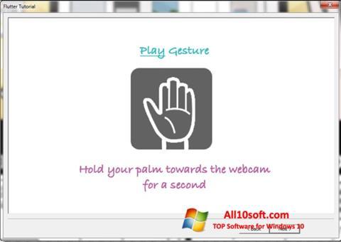 Screenshot Flutter Windows 10