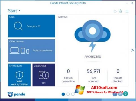 Screenshot Panda Internet Security Windows 10