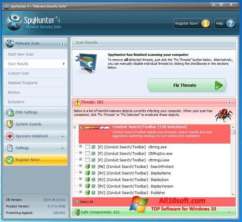 Screenshot SpyHunter Windows 10