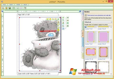 Screenshot PhotoMix Collage Windows 10