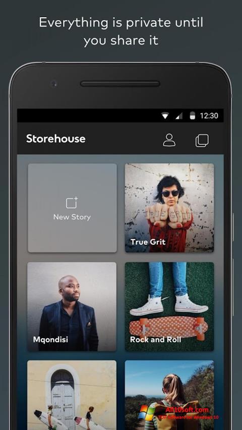 Screenshot StoreHouse Windows 10