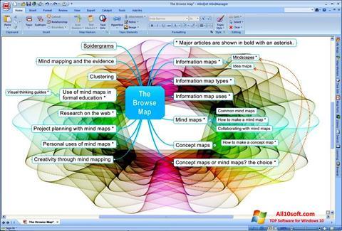 Screenshot MindManager Windows 10