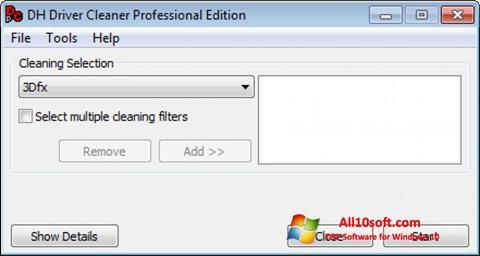 Screenshot Driver Cleaner Windows 10