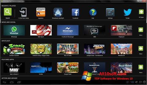 Screenshot BlueStacks Windows 10
