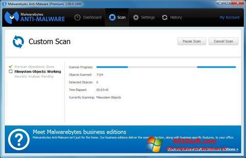 Screenshot Malwarebytes Anti-Malware Free Windows 10