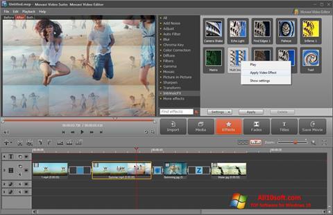 Screenshot Movavi Video Suite Windows 10