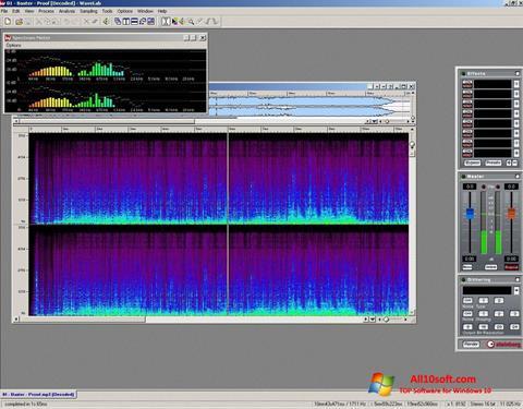Screenshot WaveLab Windows 10