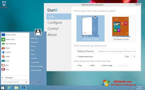 Screenshot Start8 Windows 10