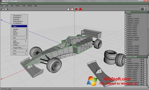 Screenshot Wings 3D Windows 10