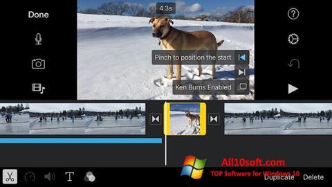 Screenshot iMovie Windows 10