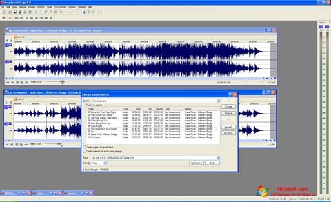Screenshot Sound Forge Windows 10