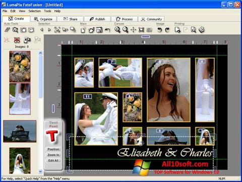 Screenshot FotoFusion Windows 10