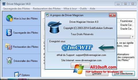 Screenshot Driver Magician Windows 10