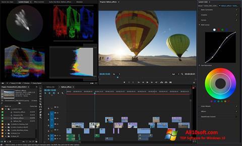 Screenshot Adobe Premiere Pro CC Windows 10