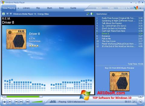 Screenshot Media Player Windows 10