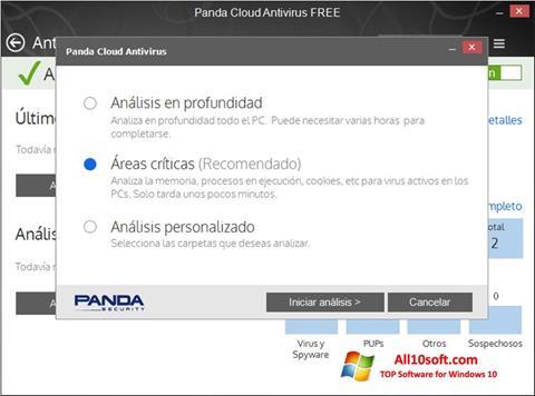 Screenshot Panda Cloud Windows 10