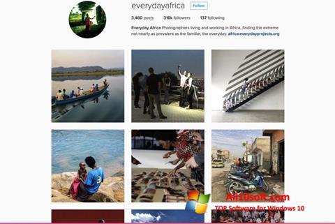 Screenshot Instagram Windows 10