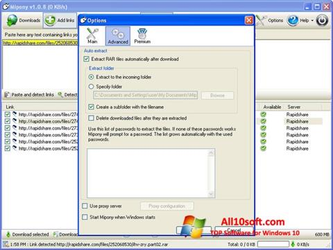 Screenshot Mipony Windows 10