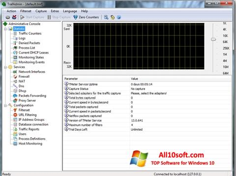 Screenshot TMeter Windows 10