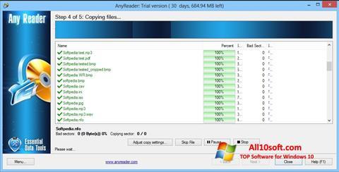 Screenshot AnyReader Windows 10