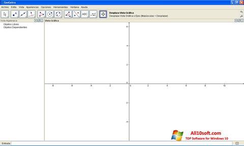 Screenshot GeoGebra Windows 10
